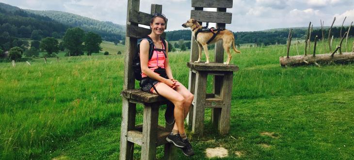 Fahrradtour mit sportlichem Hund Erfahrungsbericht