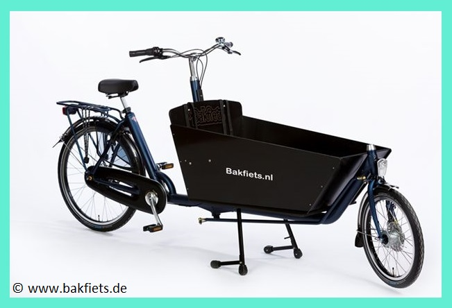 Bakfiets Classic Long Hundetransport