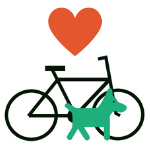 Fahrrad-mit-Hund-und-Herz